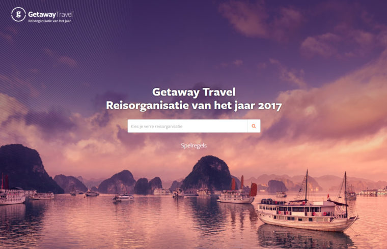 Reisorganisatie van het Jaar 2017