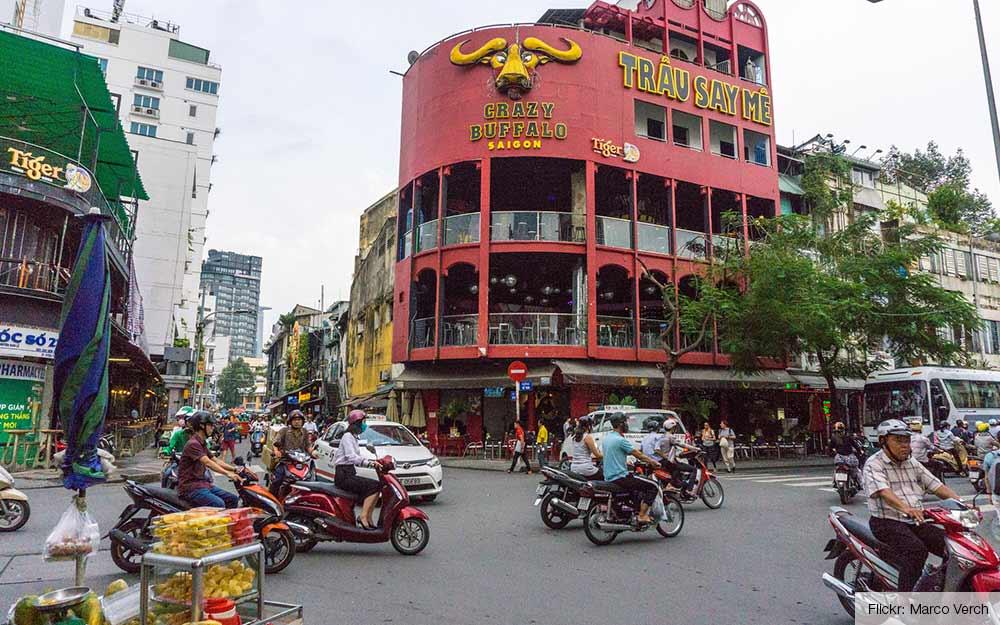 Ho Chi Minh-stad, Vietnam